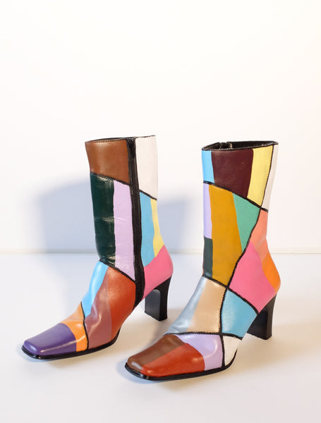 Stained Glass Boots