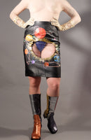 Portal Orbit Leather Window Skirt