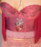 RESERVED Heart Burst Bustier