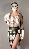 Porcelain Face Chain Bodice