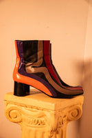 Winding Road Hand Painted Boots