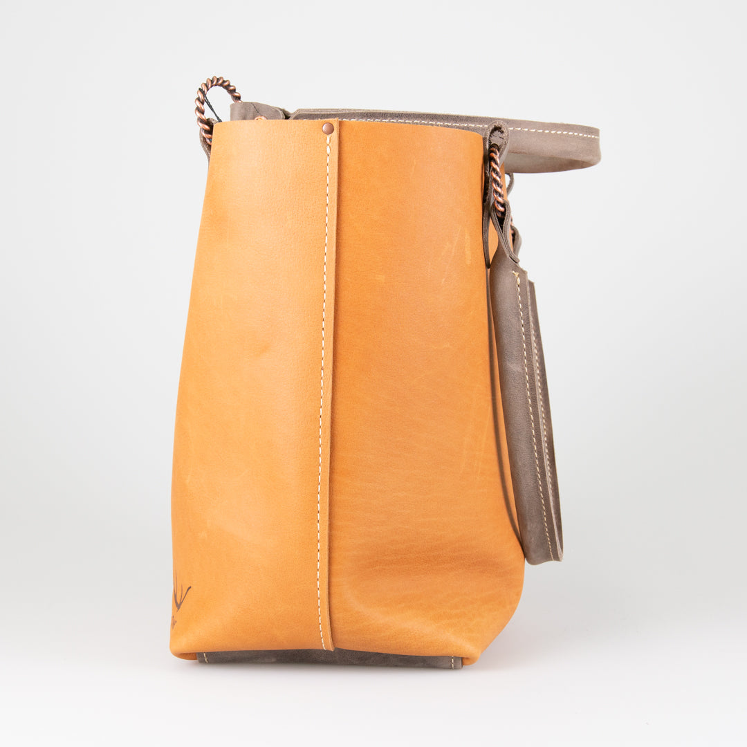Tote Rolled Handle-HAT