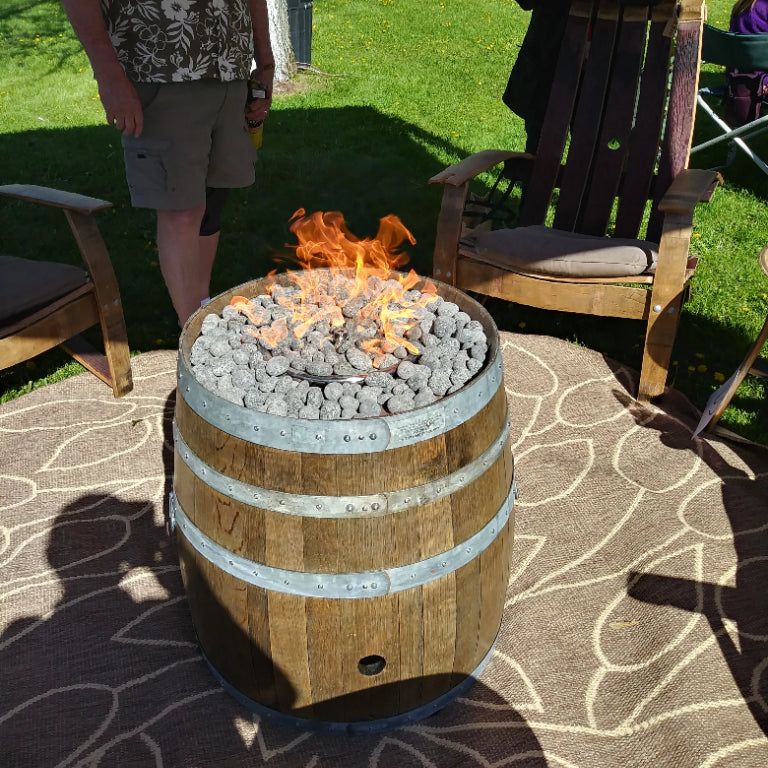 Dave's Wine Barrel Furniture