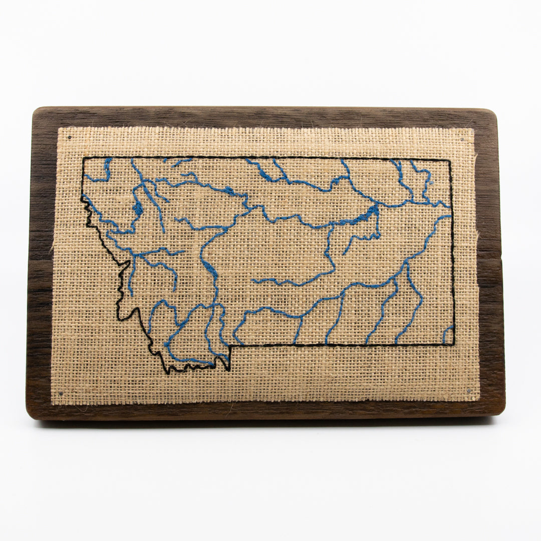 Montana Rivers Embroidery