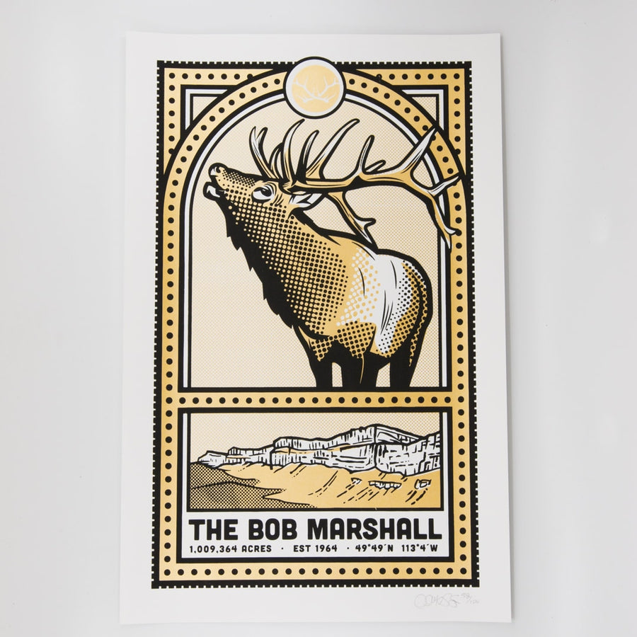 Bob Marshall Print Goodson Designs