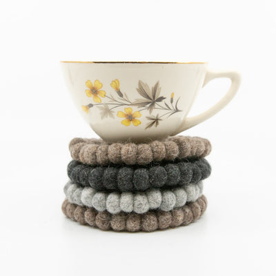 Wool Ball Coasters