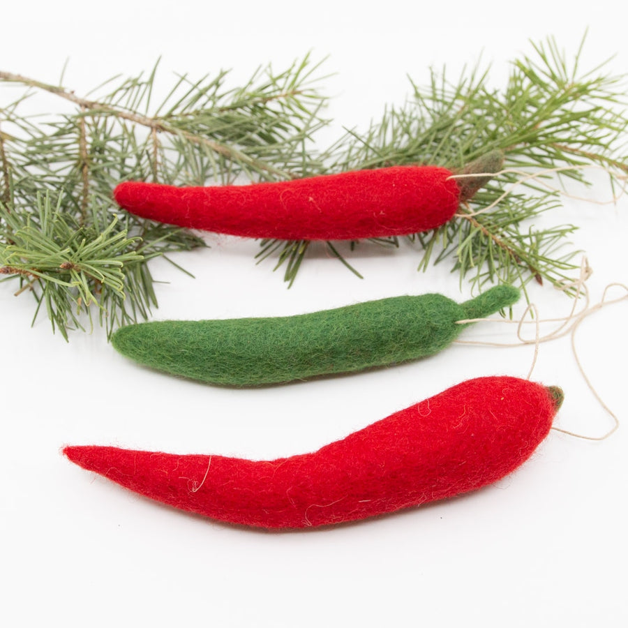 Chilli Pepper Ornaments