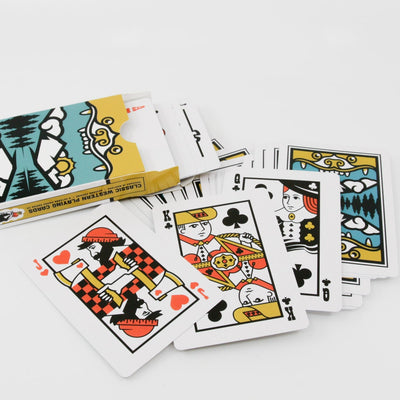 Classic Western Playing Cards