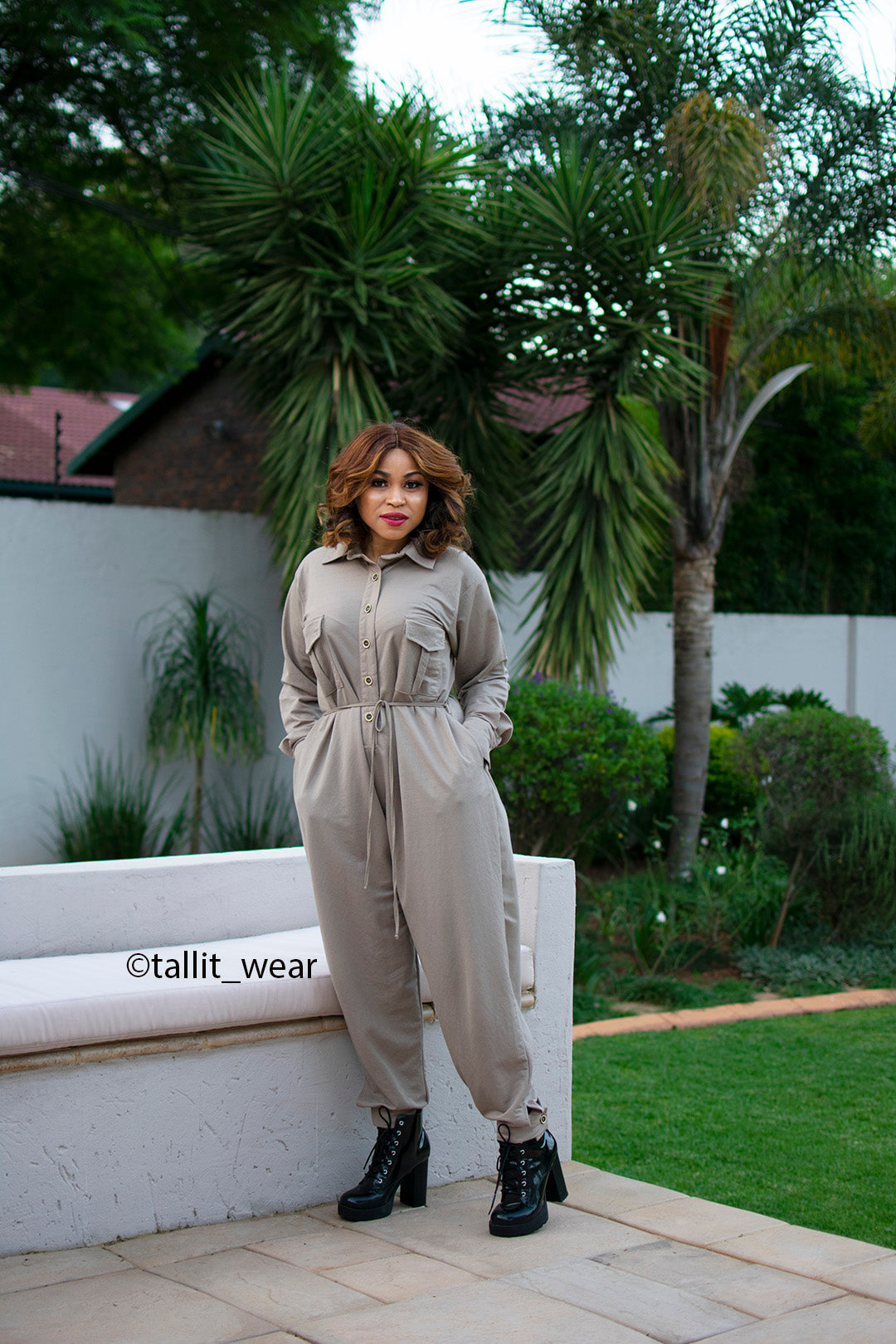 Lizelle Jumpsuit (Long Sleeves)