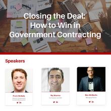 Closing the Deal: How to Win in Government Contracting
