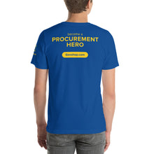 GovShop Short-Sleeve Unisex T-Shirt - Become a Procurement Hero