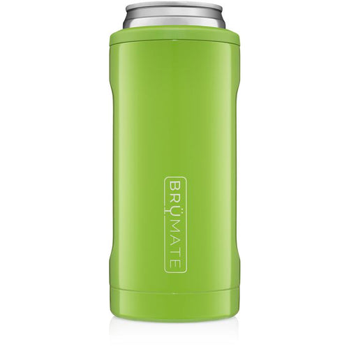 BRUMATE SKINNY CAN KOOZIE - ELECTRIC GREEN