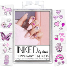 PRETTY IN PINK TEMPORARY TATTOOS