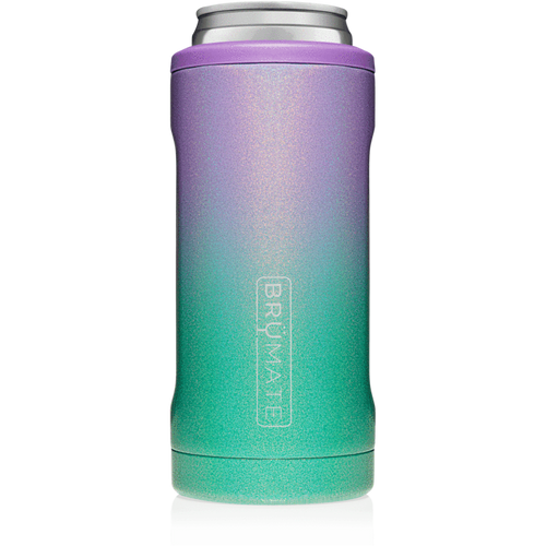 BRUMATE SKINNY CAN KOOZIE - GLITTER MERMAID