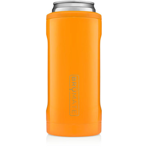 BRUMATE SKINNY CAN KOOZIE - HUNTER ORANGE