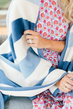 CHAPPY WRAP BLANKET - BRANT POINT BLUES