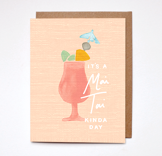 MAI KAI KINDA DAY CARD