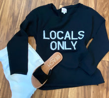 THE LOCALS ONLY SWEATER