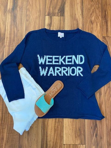 WEEKEND WARRIOR SWEATER