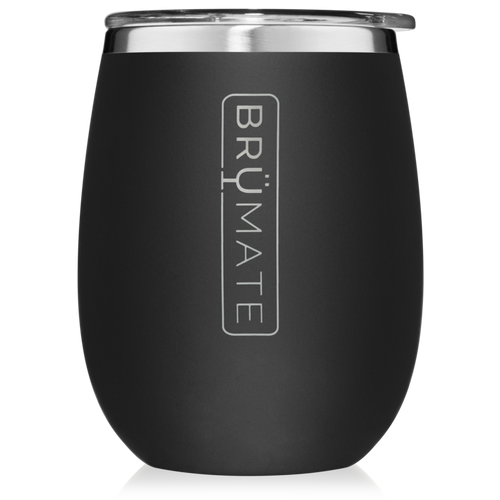 UNCORK'D XL STEMLESS WINE CUP - MATTE BLACK