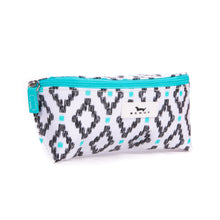 EYE CANDY GLASSES CASE - TEAL DIAMOND