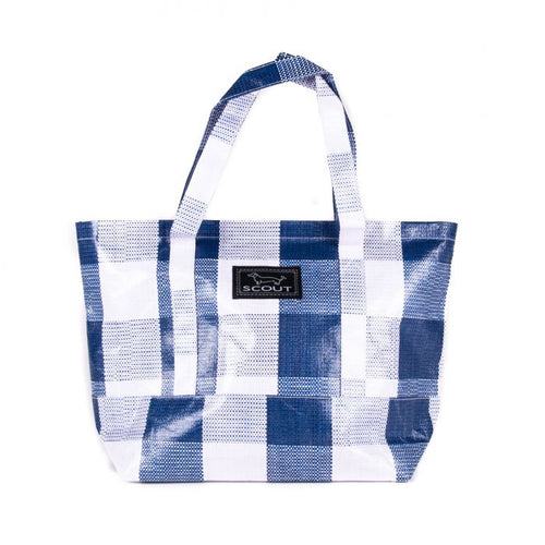 TOTEWORTHY - NAVY BLUE CHECK