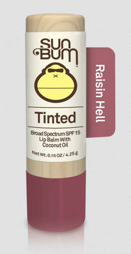 Tinted SPF 15 Lip Balm - Raisin Hell