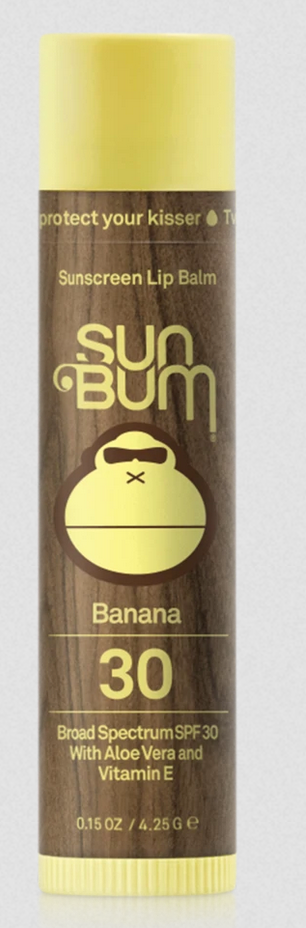 Original SPF 30 Sunscreen Lip Balm - Banana