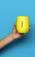 NEON YELLOW STEMLESS CUP
