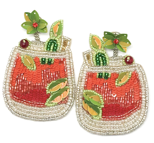 CITRUS COCKTAIL EARRINGS
