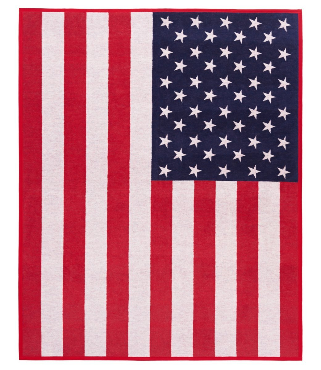 CHAPPY WRAP BLANKET - AMERICAN FLAG