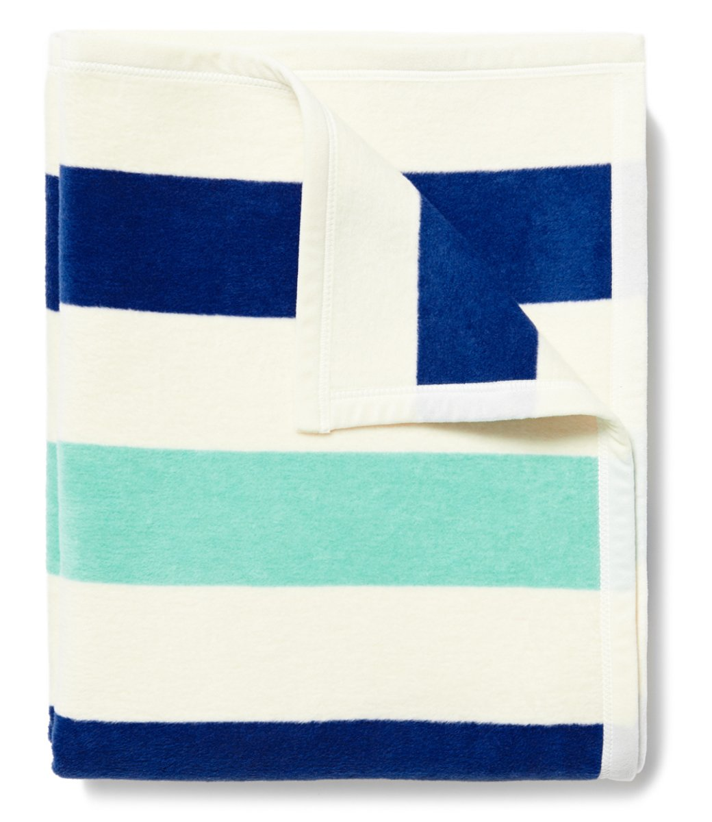 CHAPPY WRAP BLANKET - BRANT POINT TURQUOISE