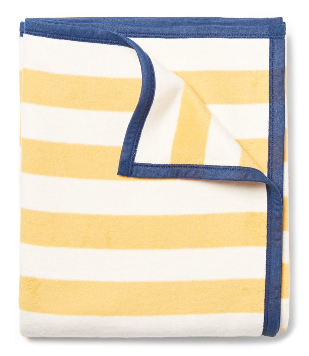 CHAPPY WRAP BLANKET - CLASSIC YELLOW STRIPE