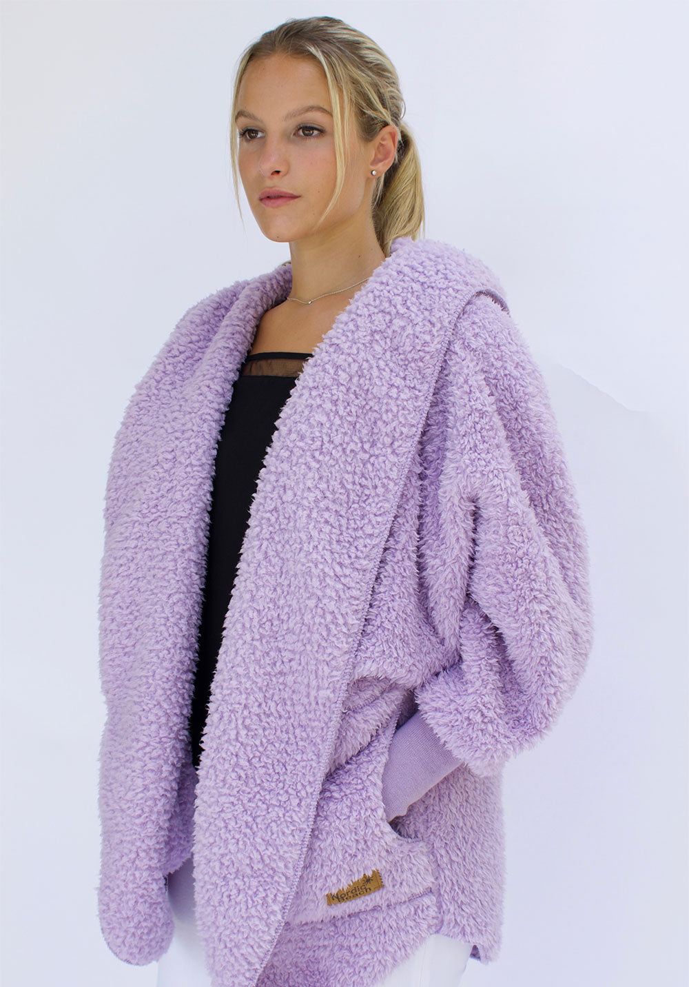 NORDIC BEACH WRAP - SOFT LILAC