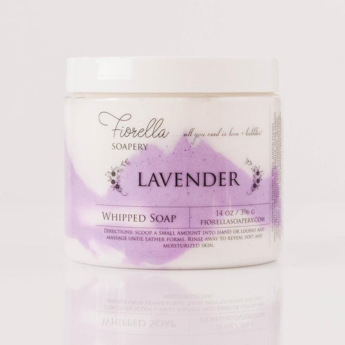 WHIPPED SOAP - LAVENDER