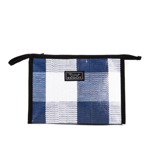 AUDREY - NAVY BLUE CHECK