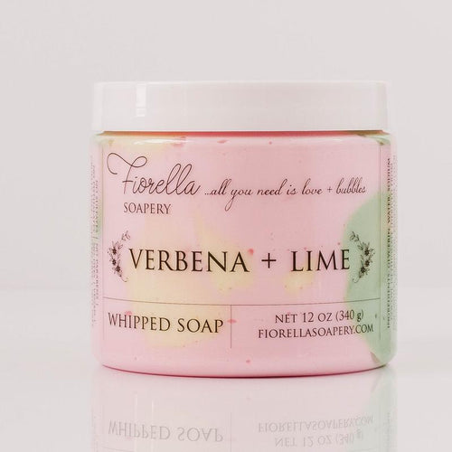 WHIPPED SOAP - VERBENA LIME