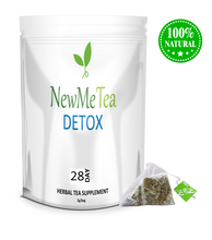 NewMeTea - 28 DAY Detox Tea for Weight Loss, Fat Burn, Slim & Cleanse Your Body. Made with 100% Natural Herbs.