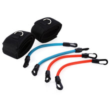 Padded Ankle Straps With Heavy Duty Resistance Band Exercise Cords w/ Carrying Bag