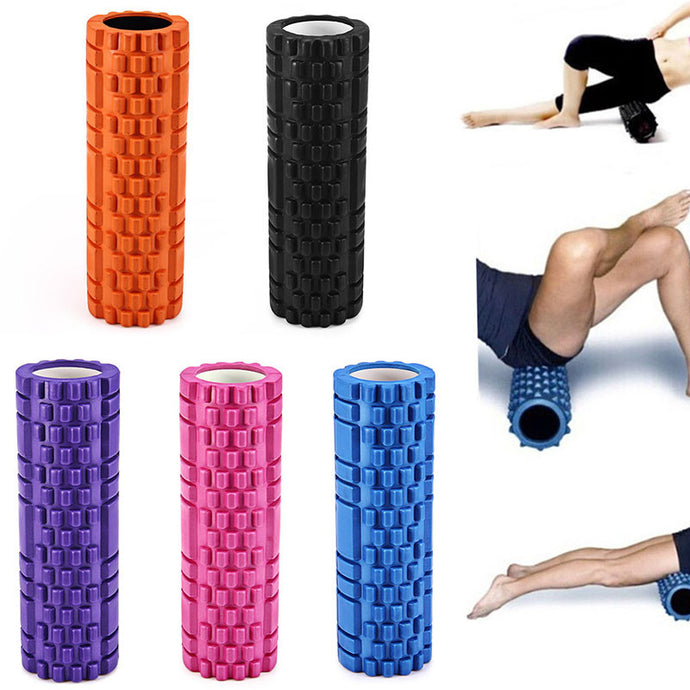 Foam Roller For Deep Tissue Massage, Trigger Point Myofascial Release and Physical Therapy