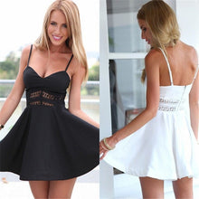 Cute Little Summer Black/White Dress