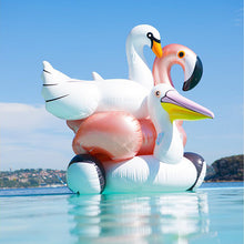 Pretty ROSE GOLD Inflatable Ride-on Flamingo Pool Float - 60inch / 150cm