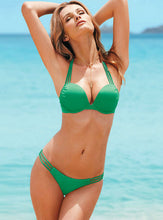 Bombshell Push Up Swimsuit - Black, Green, Blue, Green, White, Leopard, Light Pink, Pink, Hot Pink,