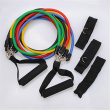 11pcs Resistant Band Set