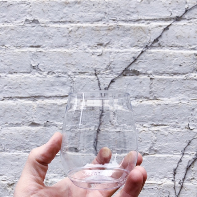 Disposable / Recyclable Stemless Glass