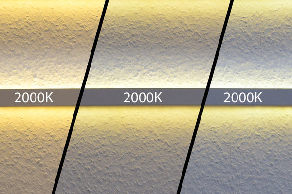How to avoid color temperature inconsistencies.