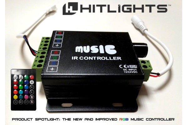 PRODUCT SPOTLIGHT: The New Improved RGB Music Controller
