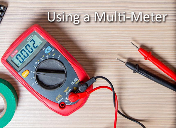Tech Support Q/A Blog:  Using a Multimeter to check your voltage: