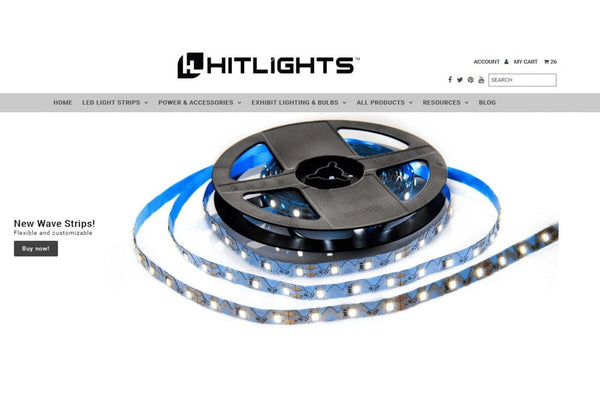 Welcome to the new HitLights.com website!