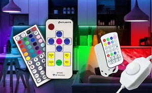 Our wide variety of Remotes, Dimmers and Controllers offer an elegant control and dimming solution for any of your  LED Strip Lighting projects.